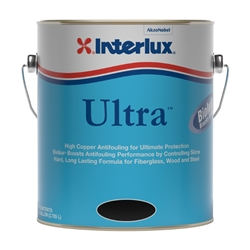 Interlux Ultra with Biolux High Copper Antifouling Paint
