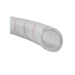 "MPI Series 162 3/8"" Clear Reinforced PVC Tubing 