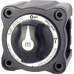 Blue Sea Systems m-Series Mini On-Off Battery Switch with Knob | Blackburn Marine Supply