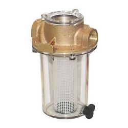 "Groco ARG-755 3/4"" Bronze Raw Water Strainer 