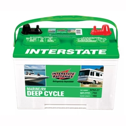 Interstate Deep Cycle Marine Battery >> Interstate Marine R/V 600 CCA 160 RC | Blackburn Marine