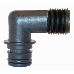 Jabsco 30655-1000 Quad Port Male Barb 1/2"
