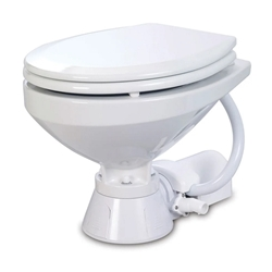 Jabsco 37010-1090 Electric Marine Toilet (household size) | Blackburn Marine Toilets & Accessories