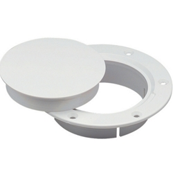 "Marinco N10864DW Snap-In 4"" Deck Plate 
