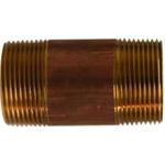 Midland Metals Brass Nipple 1-1/4 Diameter | Blackburn Marine