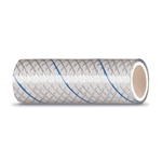 "MPI Series 164  1/2"" White Reinforced PVC Tubing with Blue Tracer 
