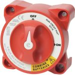 Blue Sea Systems e-Series Dual Circuit Plus™ Battery Switch | Blackburn Marine Supply