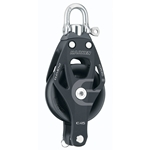 45 mm | Harken 6231 - Aluminum Element Block, Swivel, Becket