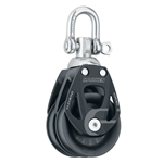45 mm | Harken 6238 - Aluminum Element Double Block, Swivel