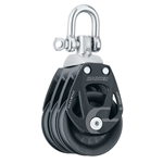 45 mm | Harken 6240 - Aluminum Element Triple Block — Swivel