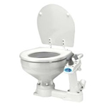 Jabsco 29090-3000 Twist 'n' Lock Manual Toilet (compact bowl) | Blackburn Marine Toilets & Accessories