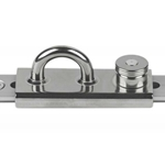 "Schaefer 72-49 Eye Slide/Lined Slider 1-1/4"" T-Track 