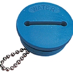 Sea-Dog 357017-1 Blue Replacement Cap for Nylon Deck Fill Water Hose | Blackburn Marine Deck Fills